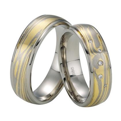 Mokume Gane Trauringe Ringe Eheringe