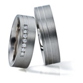 Trauring  Silber 0,10 ct. tw/si